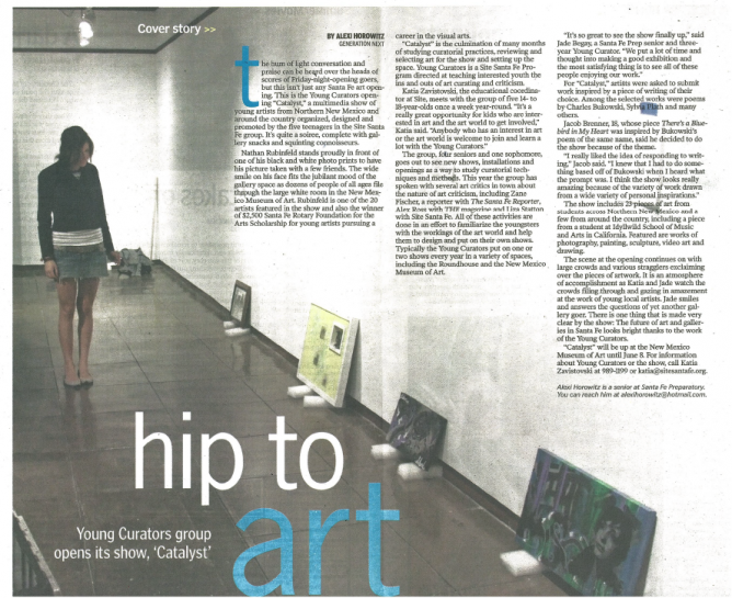 Hip To Art Article Catalyst