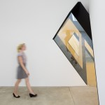Aluminum, glass and existing architecture. Total dimensions variable. Installation view: PPOW. New York, NY. USA, 2012.